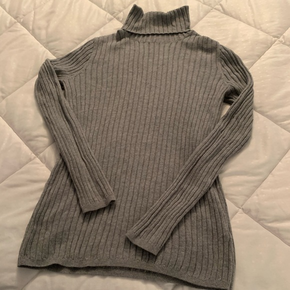 Sonoma Tops - Ribbed turtleneck gray Sonoma size Large